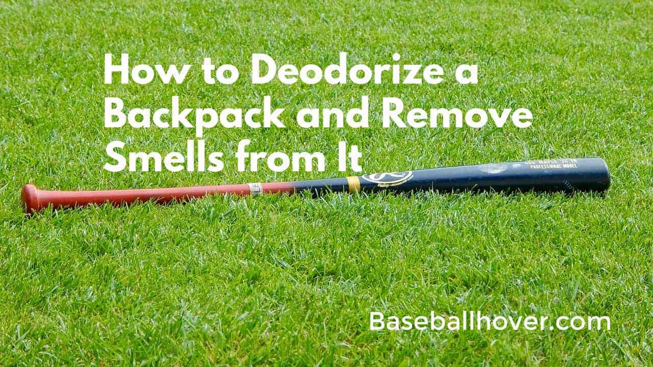 How to Deodorize a Backpack and Remove Smells from It