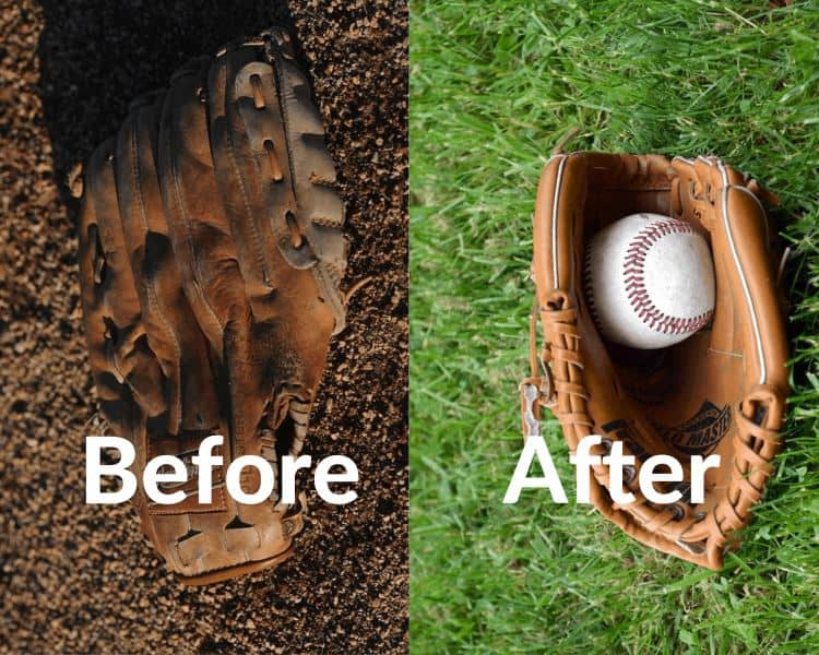 how to oil an old baseball glove featured image