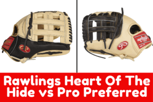 rawlings heart of the hide vs pro preferred featured image